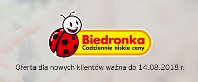 Oferta Biedronka - karta kredytowa.
