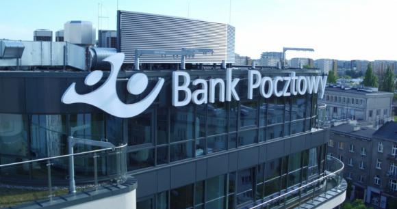 Bank Pocztowy biurowiec.